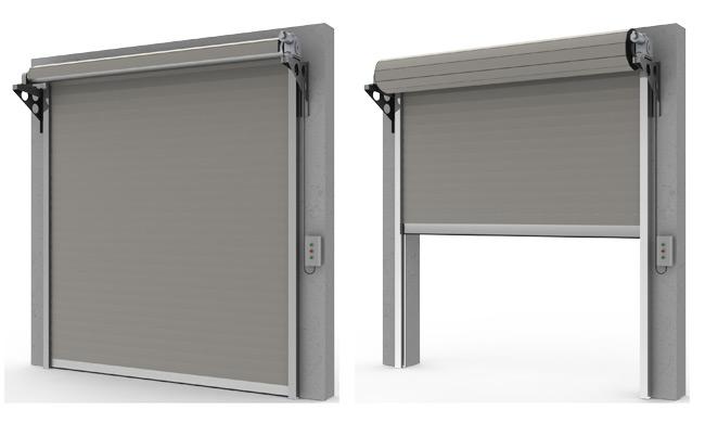 Porte tipo serrande avvolgibili mca in 087055 comana for Serrande avvolgibili per garage prezzi